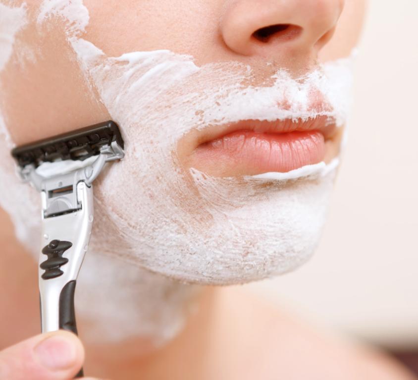 primer afeitado